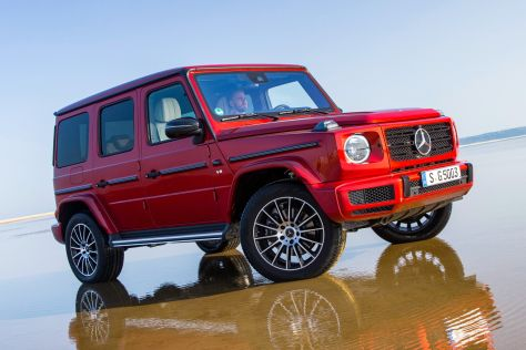 Mercedes-Benz отзывает новые Гелендвагены