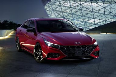 Hyundai представила Elantra N Line