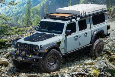 Jeep построил дизельный кемпер на базе пикапа Gladiator