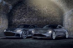 Aston Martin представил две спецверсии в стиле Джеймса Бонда