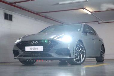 «Горячий» Hyundai Sonata N-Line показал свою внешность