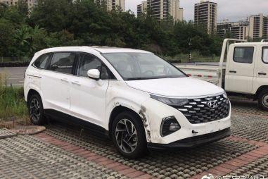 В гамме Hyundai появится большой вэн Custo (ФОТО)