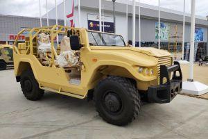 У бронеавтомобиля Тигр появилась модификация для сафари (ФОТО)