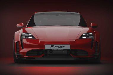 Электрическому Porsche «расширили» кузов — и он стал выглядеть еще эффектнее
