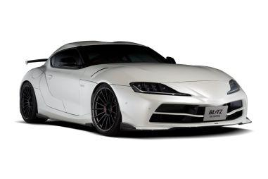 Toyota Supra стала более широкой и обтекаемой благодаря обвесу Blitz