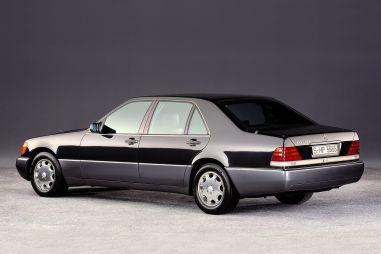 Mercedes разрабатывал 8,0-литровый W18 для W140, но в конце передумал
