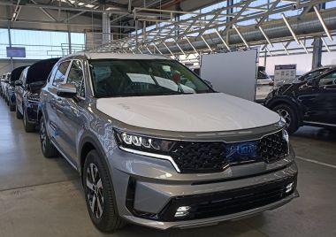 В России стартовал выпуск нового Kia Sorento. Скоро продажи
