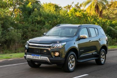Внедорожник Chevrolet Trailblazer в очередной раз обновили