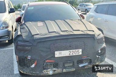 Корейцы уже тестируют конкурента BMW X3 на дорогах общего пользования