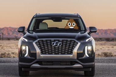 Покупатели: в новых Hyundai Palisade воняет старыми носками