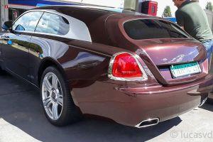 В Европе замечен необычный универсал (на базе Rolls-Royce)