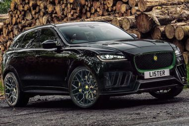 Jaguar F-Pace превратили в 666-сильный Lister Stealth