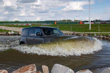 Новый Land Rover Defender: не рамный