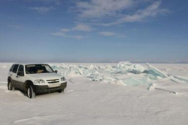 Зимой вдоль БАМа в Магадан