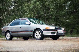Народное ретро. Mazda Familia BG 1993 года. Задел на будущее