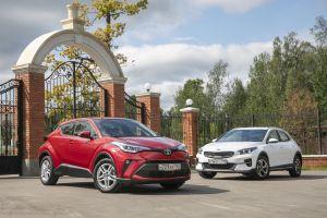 Дуэль-тест Kia XCeed vs Toyota C-HR. Полного привода нет, но вы держитесь!