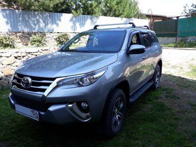 Toyota Fortuner 2020 отзыв автора | Дата публикации 13.07.2020.