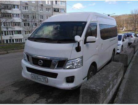 Nissan NV350 Caravan 2014 - отзыв владельца