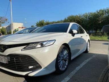 Toyota Camry 2020 отзыв автора | Дата публикации 06.08.2020.