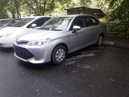 Toyota Corolla Axio 2017 - отзыв владельца