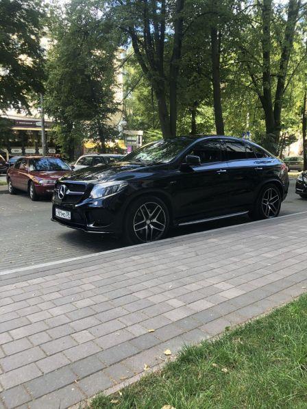 Mercedes-Benz GLE Coupe 2015 - отзыв владельца