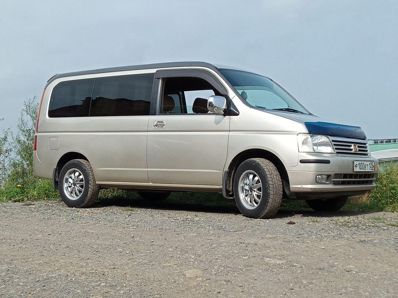 Хонда Стэпвэгон 2002, 2 литра, Отличный автобус, АКПП, 160 ...