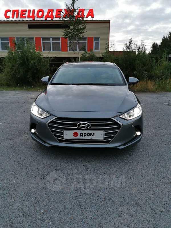 Hyundai Elantra, 2017 год, 1 200 000 руб.