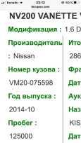 Nissan NV200, 2014 год, 700 000 руб.