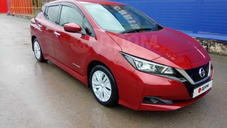 Nissan Leaf, 2017 год, 1 330 000 руб.