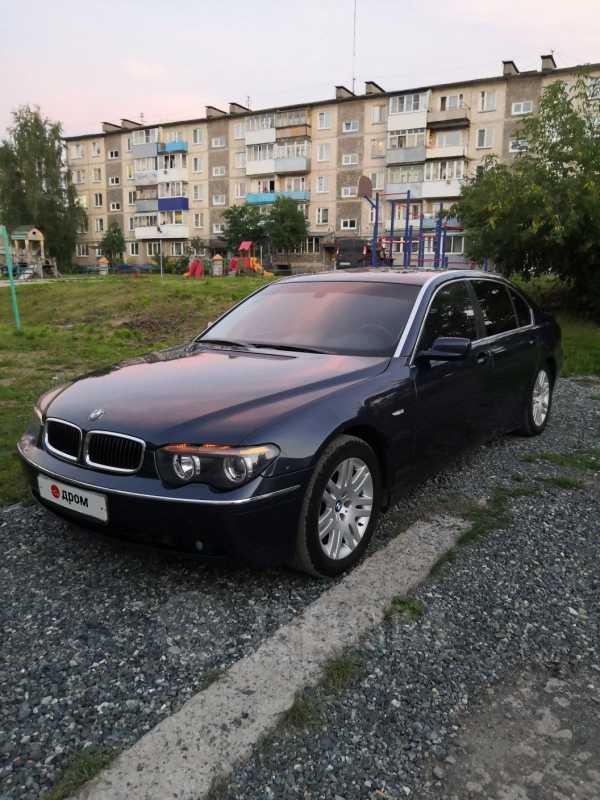 BMW 7-Series, 2002 год, 400 000 руб.