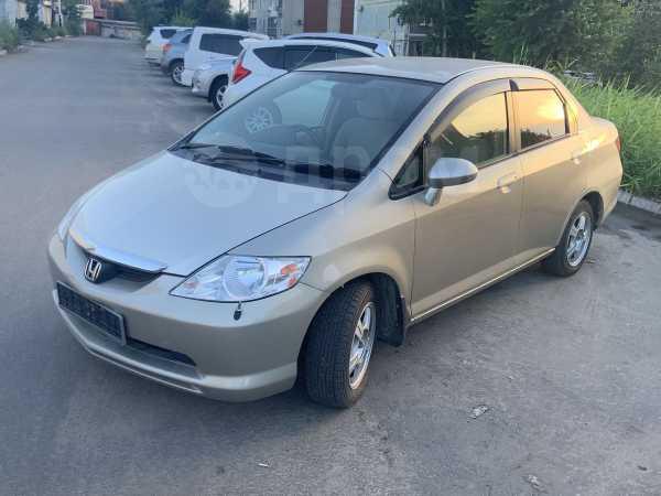 Honda Fit Aria, 2003 год, 137 000 руб.
