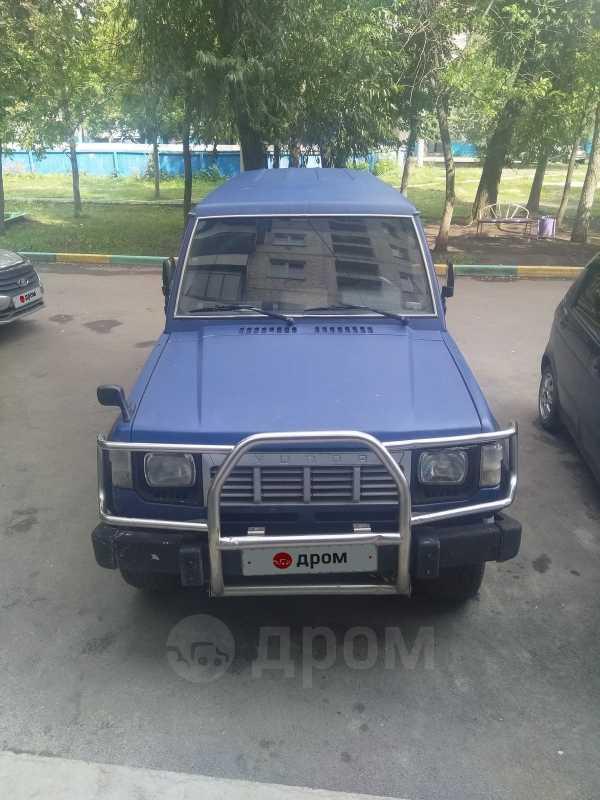Hyundai Galloper, 1997 год, 80 000 руб.