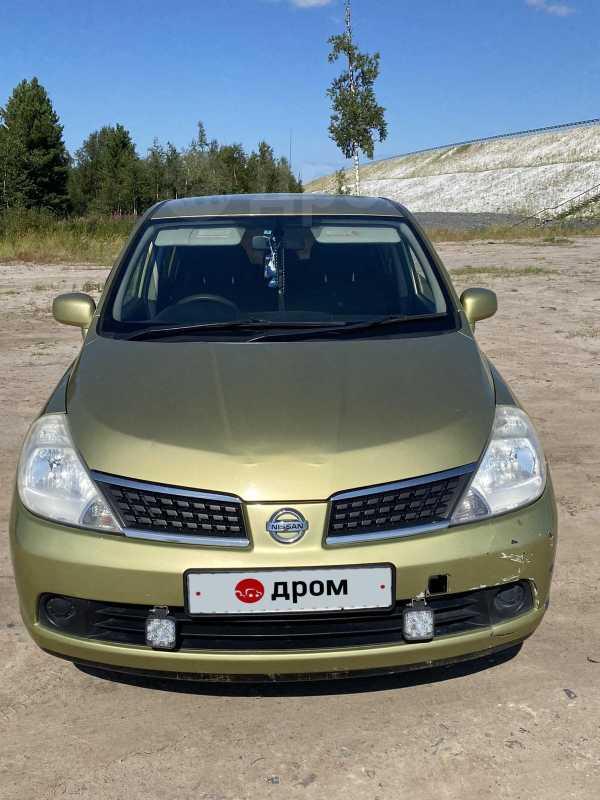 Nissan Tiida, 2005 год, 200 000 руб.