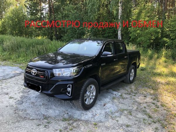 Toyota Hilux Pick Up, 2015 год, 1 600 000 руб.