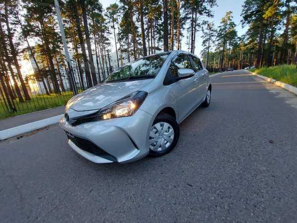 Toyota Vitz, 2015 год, 525 000 руб.