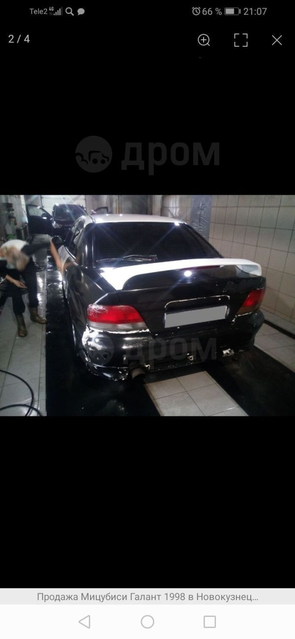 Mitsubishi Galant, 1998 год, 100 000 руб.