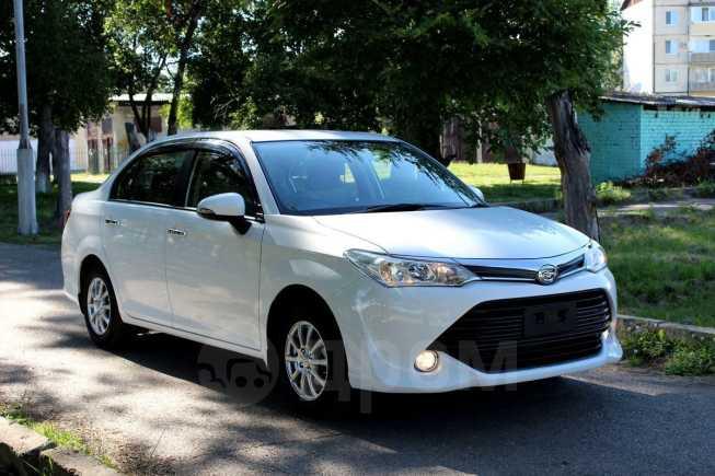 Toyota Corolla Axio, 2015 год, 657 000 руб.