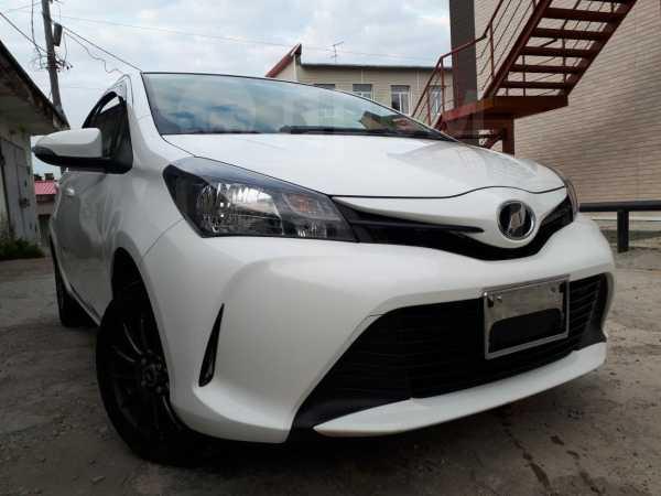 Toyota Vitz, 2016 год, 655 000 руб.