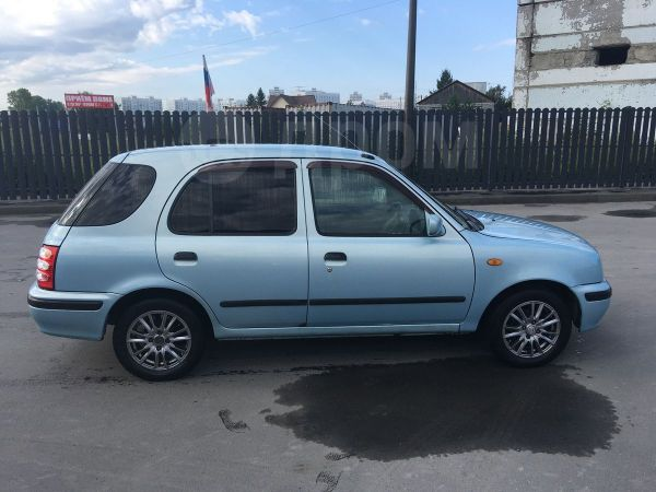 Nissan March Box, 2000 год, 110 000 руб.