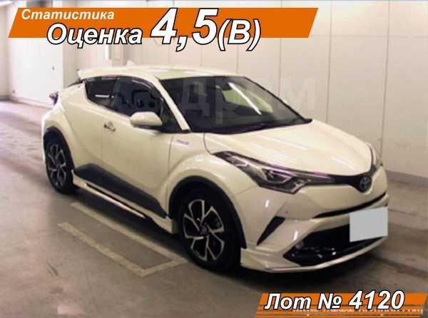 Toyota C-HR, 2017 год, 1 660 000 руб.