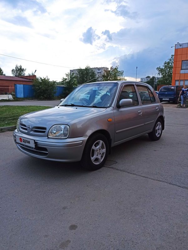 Nissan March, 2001 год, 165 000 руб.
