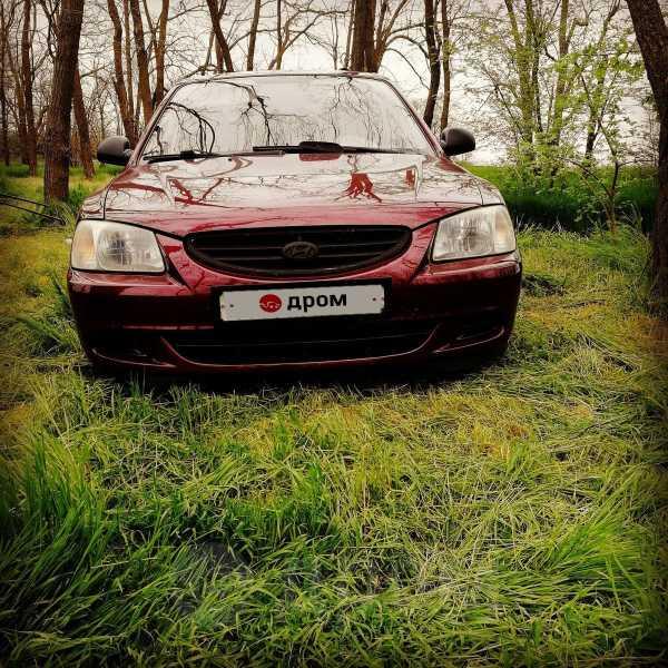 Hyundai Accent, 2008 год, 250 000 руб.