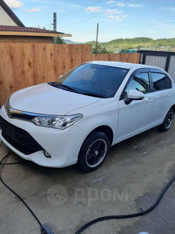 Toyota Corolla Axio, 2016 год, 790 000 руб.