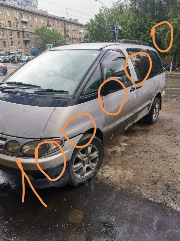 Toyota Estima Lucida, 1997 год, 100 000 руб.