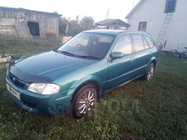 Mazda Familia, 1998 год, 155 000 руб.