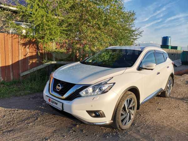 Nissan Murano, 2017 год, 2 150 000 руб.