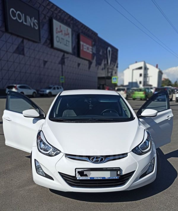 Hyundai Elantra, 2015 год, 820 000 руб.