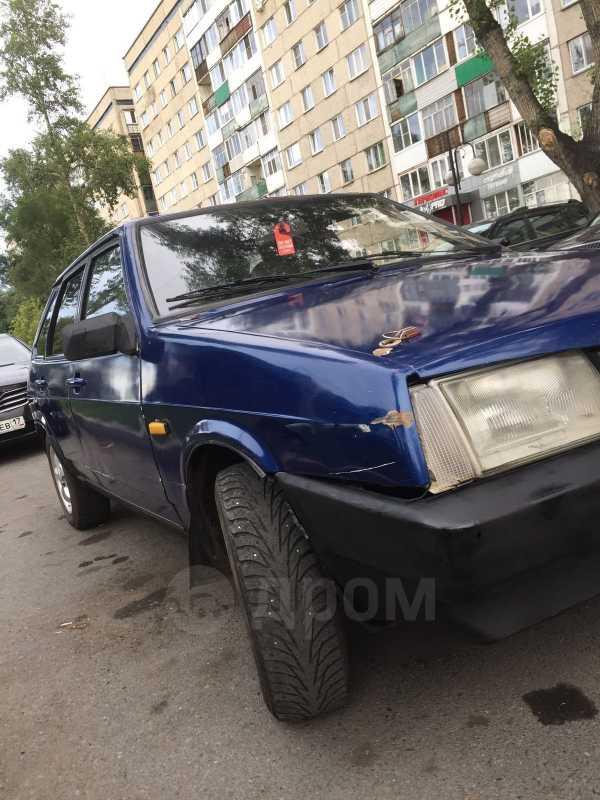Лада 2109, 1997 год, 40 500 руб.
