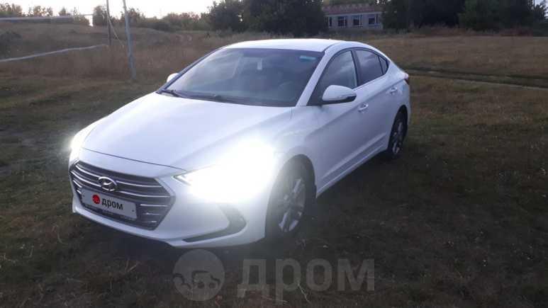 Hyundai Elantra, 2017 год, 1 035 000 руб.