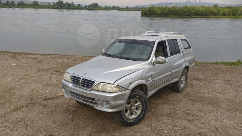 SsangYong Musso Sports, 2006 год, 340 000 руб.
